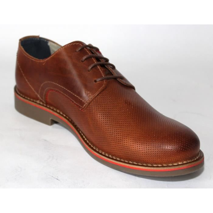 Chaussures Derby cuir Homme Marron kpoCUg