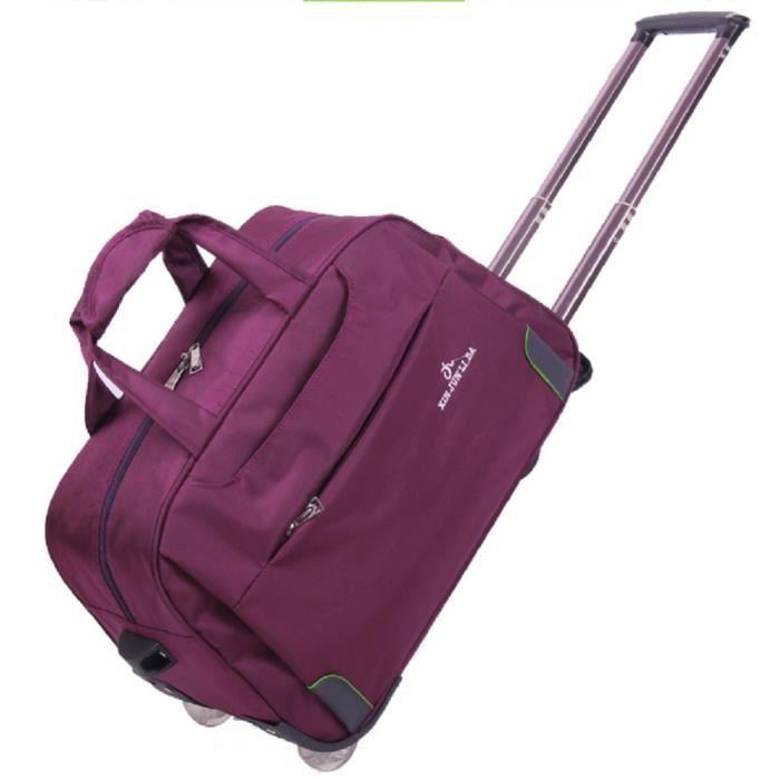 sac cabine avion bagage cabine sac de voyage valise grande volume imperm able roulettes l ger. Black Bedroom Furniture Sets. Home Design Ideas