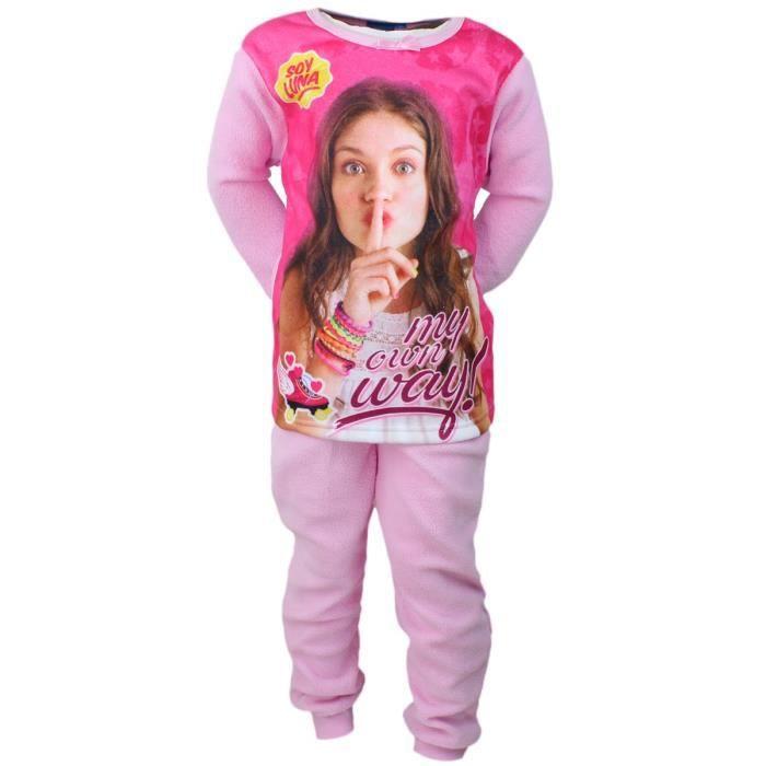 671f5fffe4fc3 Pyjama polaire SOY LUNA rose taille 12 ans - Achat / Vente pyjama ...