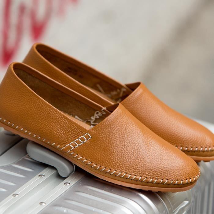 Chaussures pois jeunes/Chaussures de sport pour hommes /Pied chaussures de conduite/Respirants chaussures d'Angleterre… sNqeDTXlrp