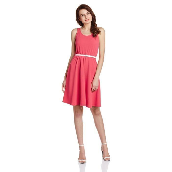 Womens Cotton A-line Dress AL96Y Taille-38