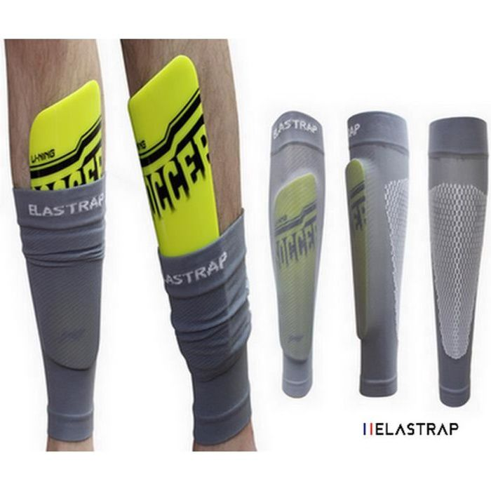 5231595c60dde Maintien protege tibias elastrap tibtop bandapar nike adidas decathlon -  long manchon recouvrant les protections tibia - la paire