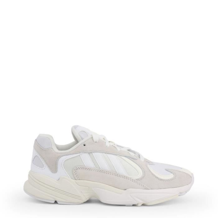 ADIDAS YUNG 1 B37616 AGE ADULTE, COULEUR BLANC, GENRE HOMME, TAILLE 44