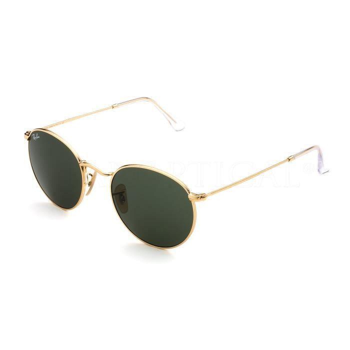 3ea31a57c5c81 RAY BAN ROUND METAL RB3447 001 50-21 - Achat   Vente lunettes de ...