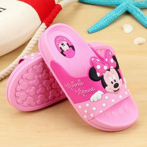 Enfants chaussures maison salle de bain intérieure slip pantoufle semelle souple dessin animé sandales enfants tongs plage TokjbISqqQ
