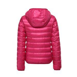 ... poids leger doudoune femme a capuche hiver marque 249341e0378