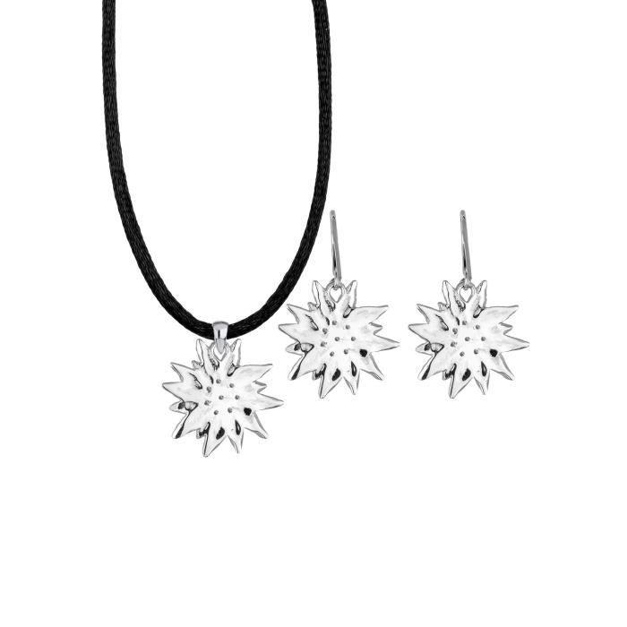 Elli bijoux ensemble collier et boucles doreilles en argent sterling et cristal swarovski 1SLZZF