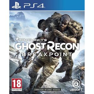 JEU PS4 Ghost Recon BREAKPOINT Jeu PS4