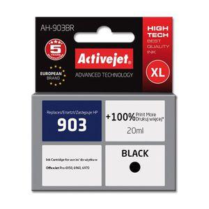 CARTOUCHE IMPRIMANTE ActiveJet AH-903BR, HP, Pigment noir, OfficeJet Pr