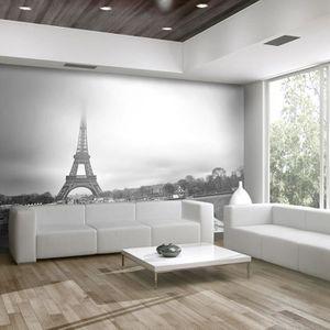 Papier Peint Paris Tour Eiffel 350x270 Ville Et Architecture
