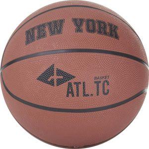 BALLON DE BASKET-BALL ATHLI-TECH Ballon de basket New York - Orange Fonc