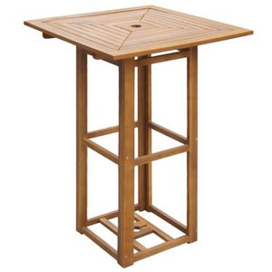 OBJET DÉCORATIF VidaXL Table De Bar Du0027extérieur Bois Du0027acacia