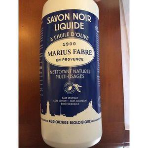 SAVON - SYNDETS Savon Noir Liquide à l'Huile d'Olive (1L)