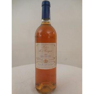 VIN BLANC sauternes madame de rayne liquoreux 1997 - bordeau