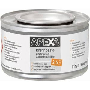 ETHANOL Gel combustible pour chafing dish Apexa - 48 boîte