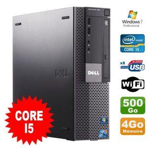 UNITÉ CENTRALE  PC Dell Optiplex 980 SFF Intel I5-650 3.2GHz 4Go D