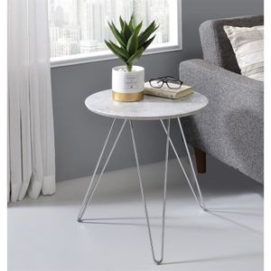 TABLE D'APPOINT Table d'appoint BENNO table basse ronde design ret