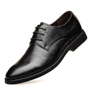 e281ccc5964893 Homme cuir mocassin chaussures business formel noir - Achat / Vente ...