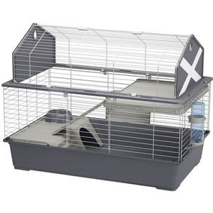 CAGE Cage Rongeur Barn 100 Gris - Ferplast