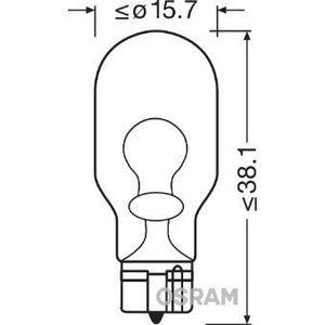 AMPOULE TABLEAU BORD OSRAM Lot de 2 Lampes de signalisation halogène Or