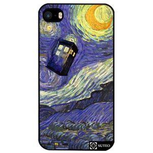 COQUE - BUMPER Coque Iphone SE - La nuit étoilée de Vincent Van G