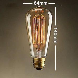 Ampoules A Incandescence Retro Edison Ampoule Antique Lampe