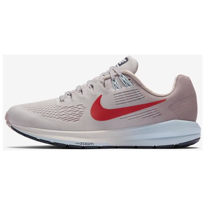hot sale online 13317 ad1ef ... cheapest nike chaussures de running air zoom structure femme violet  13e77 030af