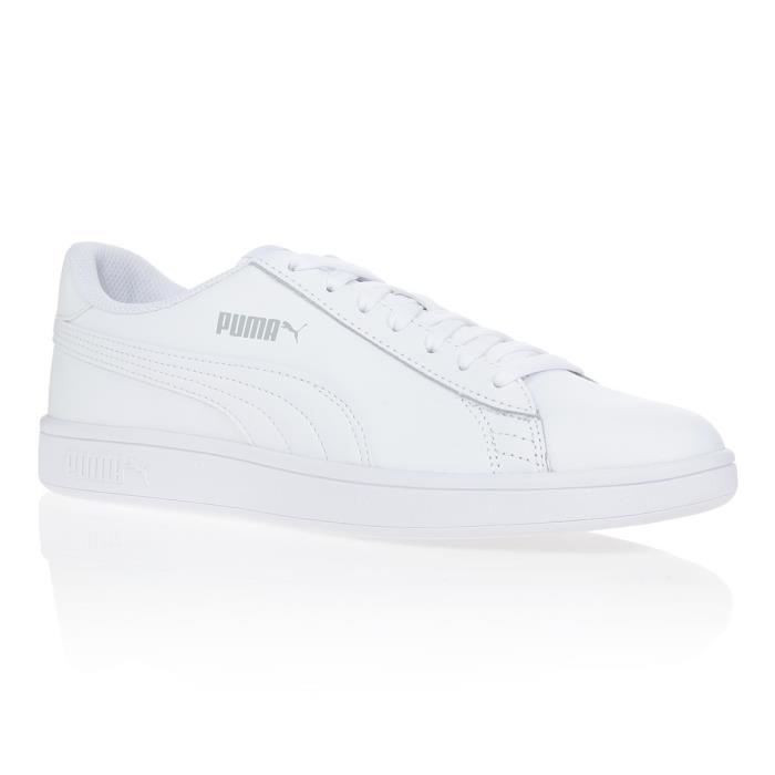 V2 Noir Blanc Baskets Puma Homme Smash Achat Leather Mixte XkZTPiOu