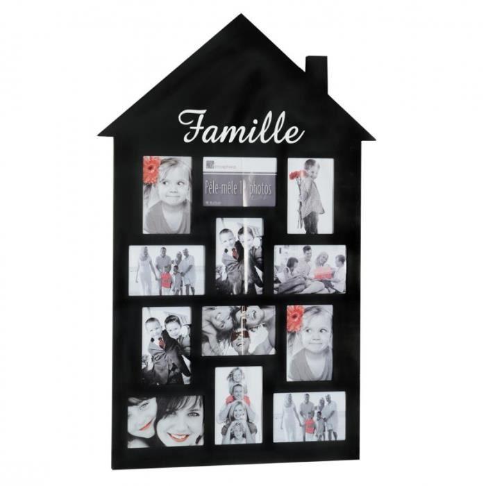 cadre pele mele multi photo achat vente cadre pele. Black Bedroom Furniture Sets. Home Design Ideas
