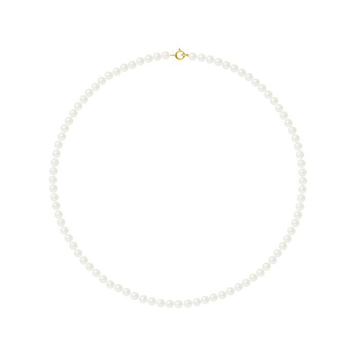 PERLINEA Collier Perles de Culture et Or Jaune 375° Femme
