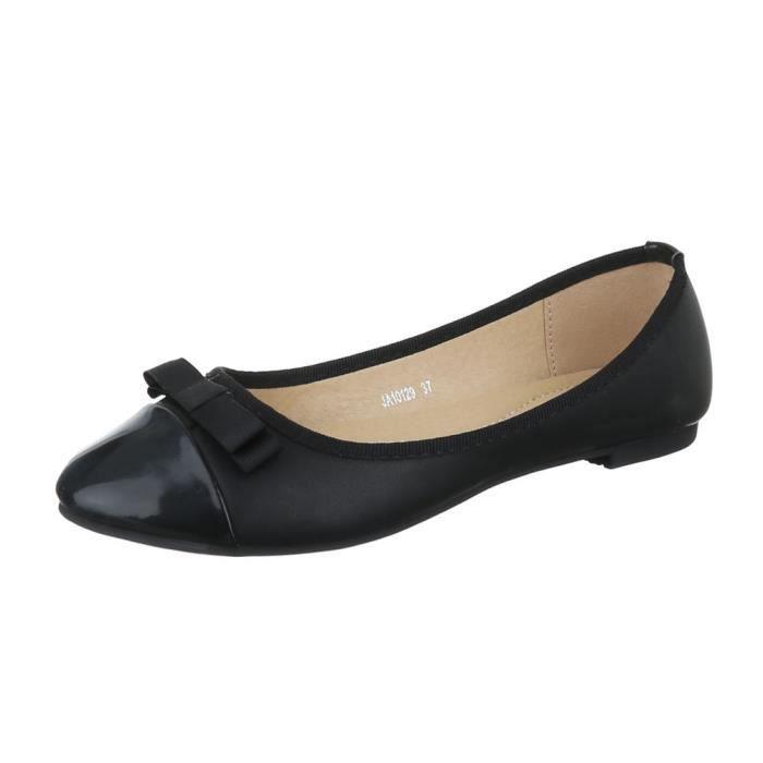rivet femmes chaussures ballerine babouche avec boucle kaki 40 orh1uo5V