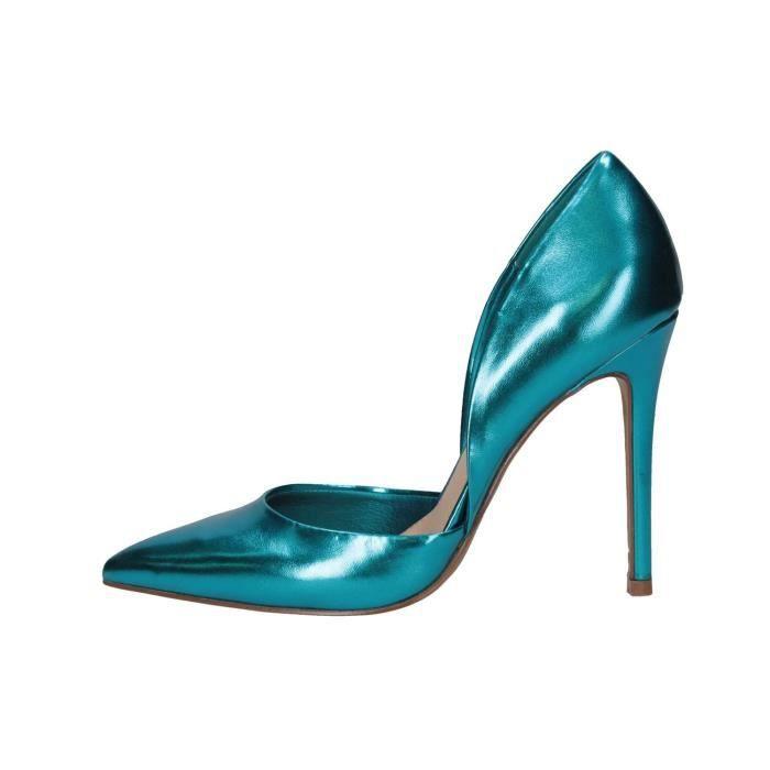 Steve Madden Escarpins Femme Bleu, 40