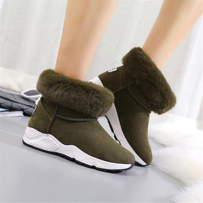 Neige Et Temps Froid Garde Au Chaud Chaussure Plus De Cachemire OFHBm