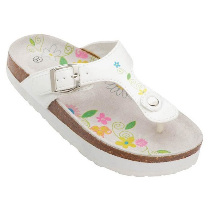 Sandales minceur blanches OSE - Blanc