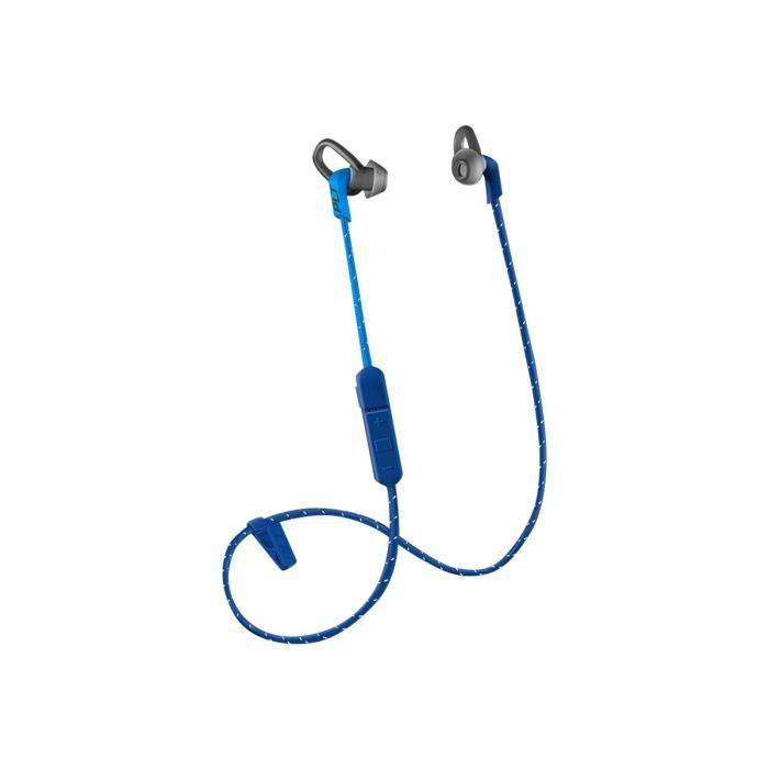 Plantronics Backbeat Fit 300 Series Casque Avec Micro Intra-auriculaire Montage Derrière Le Cou Bluetooth Sans Fil Bleu Foncé