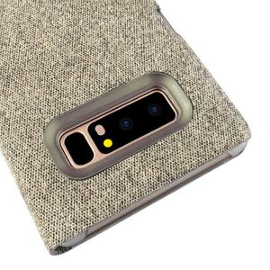 Pour Samsung Galaxy Note 8 Clear View Mirror Leather Flip Stand Case Covercoque HM10042 6BsFQMHRa