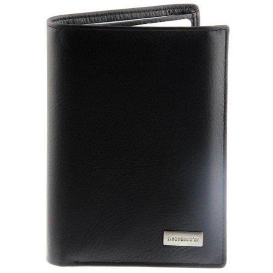 60b5be31173 Portefeuille Design pour homme en cuir. Noir - Achat   Vente portefeuille  9096100007507 - Cdiscount