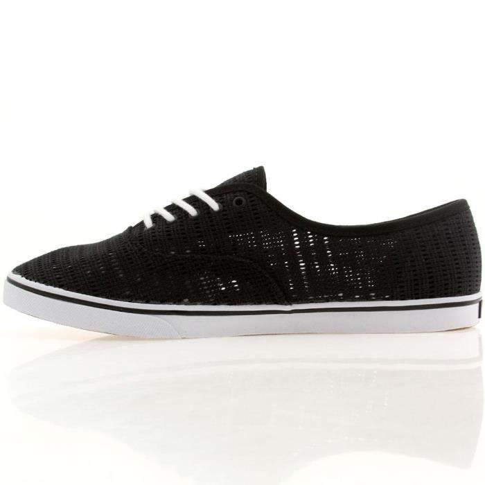 Vans Authentic Lo Pro Mens Blanc Mesh Lace Up Chaussures à lacets Sneakers LRXR1 Taille-35