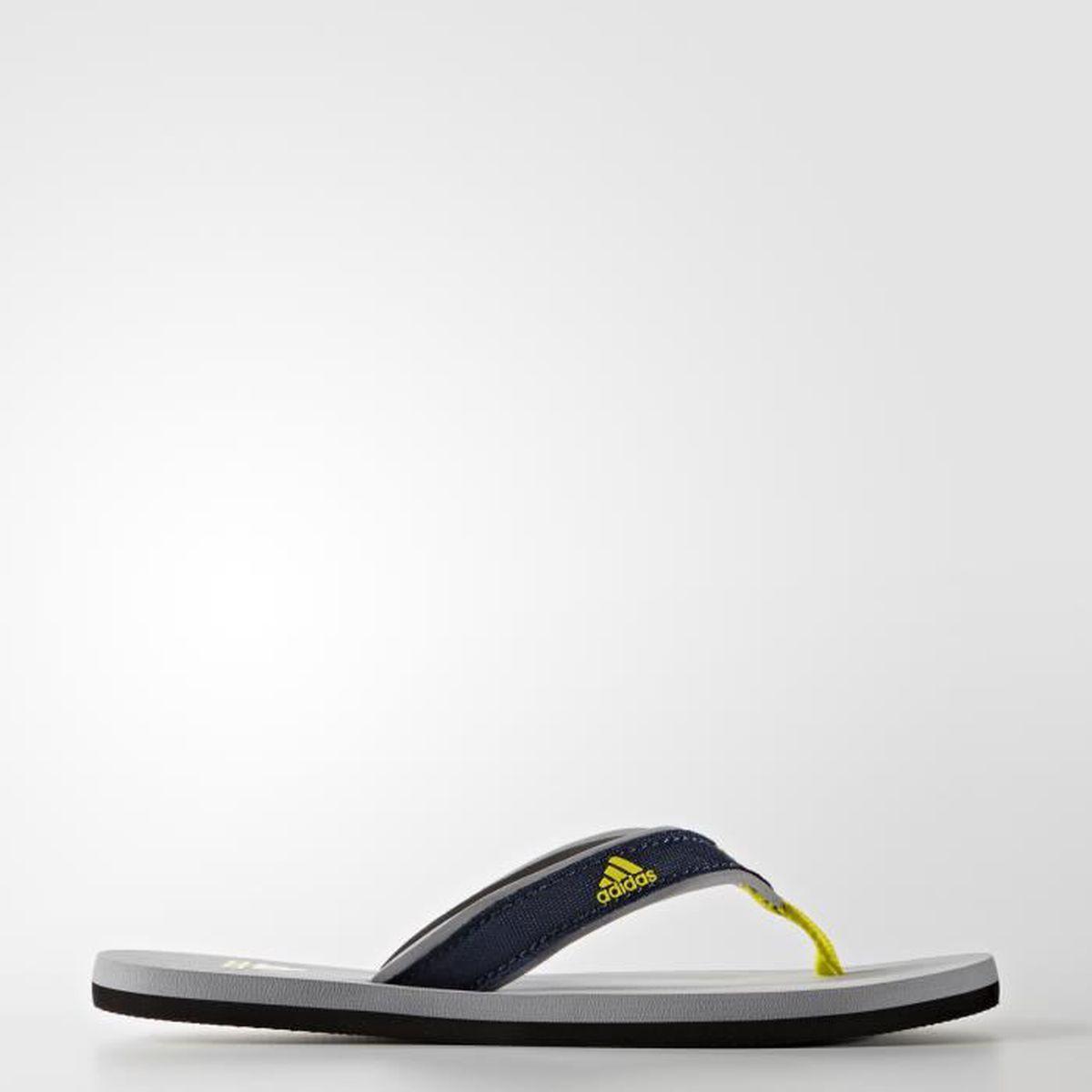 buy online 1f1cd 835a7 BALLON DE WATER-POLO Tongs junior adidas Beach - grisbleu marinejaune