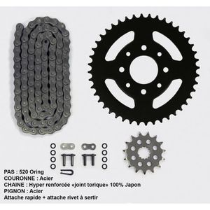 Kit chaîne pour Yamaha Xte 600 de 89-03