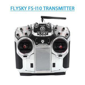 EMETTEUR 3D Émetteur de Flysky FS-i10 10CH 2.4GHz 3.7V 1700 mA