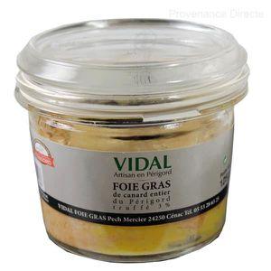 FOIE GRAS verrine de Foie Gras de Canard entier du Périgord