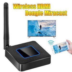 LECTEUR MULTIMÉDIA Miracast Dongle WiFi HDMI Sans Fil Récepteur AirPl