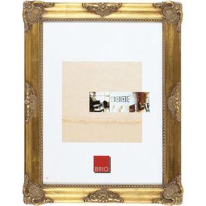 CADRE PHOTO Cadre photo Opéra doré 40x50 cm - Brio, marque fra