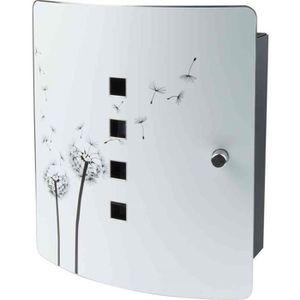 ARMOIRE - BOITE A CLÉ Armoire pour 10 clés Motif Fleurs de pissenlit