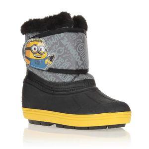 BOTTE LES MINIONS Bottes de neige Chaussures Enfant Garç