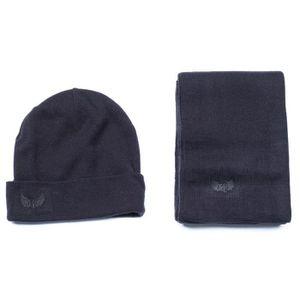 BONNET , CAGOULE Bonnet Kaporal Packh17 Coffret Echarpe + Black
