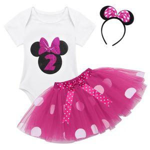 c8cf420b885 Ensemble de vêtements Ensemble Body bébé filles jupe en maille type fée