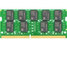 SYNOLOGY Module de RAM Synology - 16 Go - DDR4-2400/PC4-19200 DDR4 SDRAM - 1,20 V - ECC - Non bufferisé - 260-pin - SoDIMM