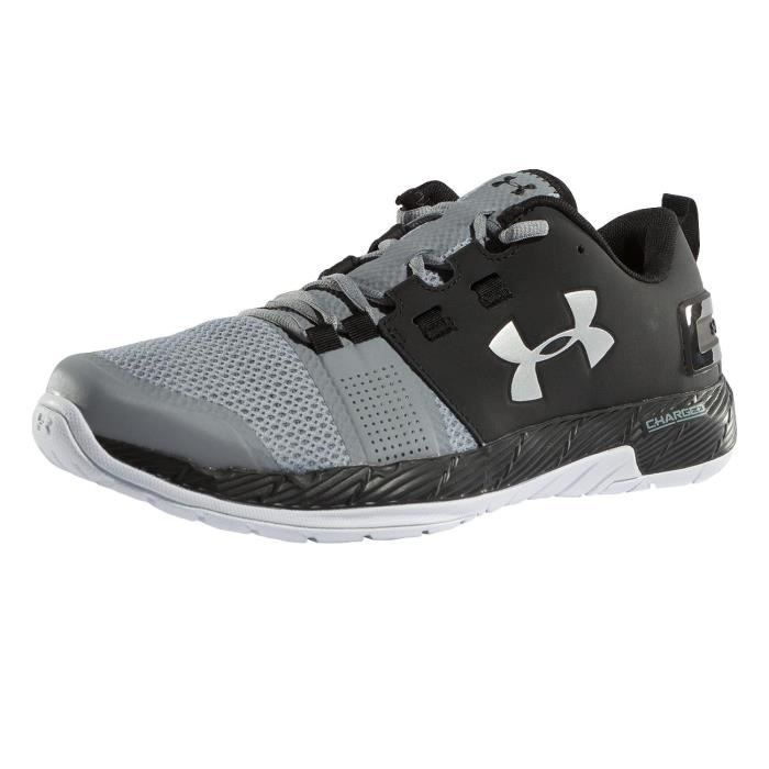 Under Armour Homme Chaussures / Baskets Commit Trainer gris 45